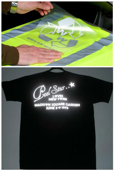 Siser P.S. Extrareflex световозвращающая светоотражающая пленка для одежды нанесение логотипов на спецодежду